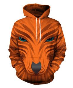 Animal Fox 3d Hoodie