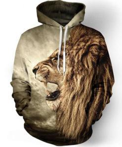 Fashion Lion 3d Hoodie