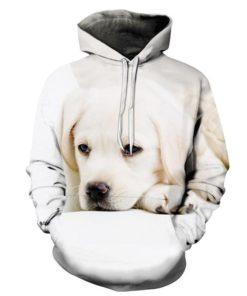 Sleepy Dog 3d Hoodie