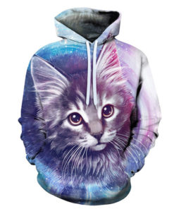 Cute Cat 3d Hoodie