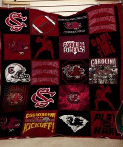 South Carolina Gamecocks Quilt Blanket