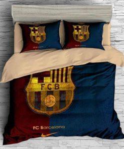 Fc Barcelona #4 Duvet Cover Bedding Set