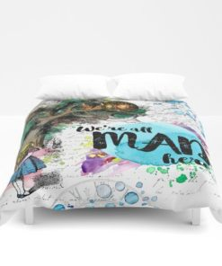 3d Alice In Wonderland - We'Re All Mad Here Duvet Cover Bedding Sets