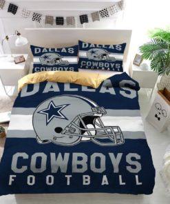 Dallas Cowboys Football Logo Custom Duvet Cover Bedding Set