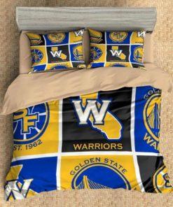 Golden State Warriors #3 Duvet Cover Bedding Set
