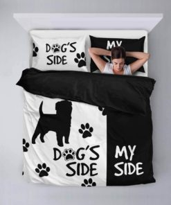 &Quot;Dog'S Side, My Side&Quot; Duvet Cover