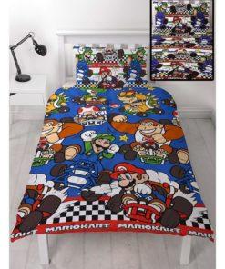 Nintendo Mario Brothers Duvet Set - Mario Brothers Bedding