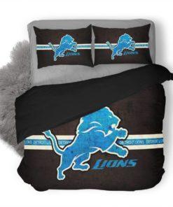 Nfl Detroit Lions #2 Duvet Cover Bedding Set
