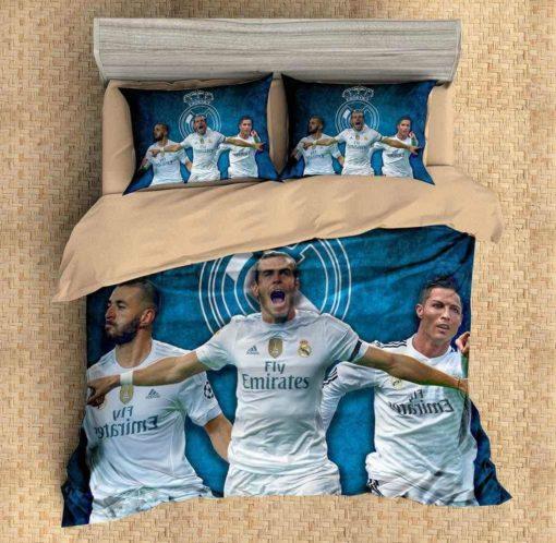 Real Madrid C.F. #2 Duvet Cover Bedding Set