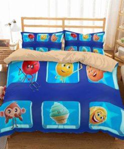 The Emoji Movie Duvet Cover Bedding Set