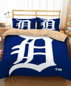 Detroit Tigers #2 Duvet Cover Bedding Set