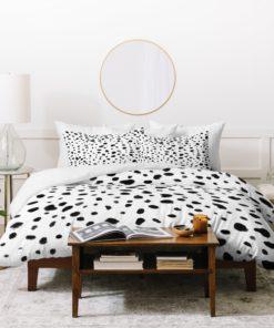 Miss Monroes Dalmatian  Duvet Cover