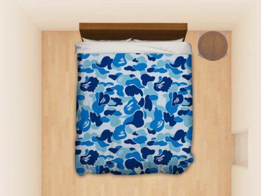 Bape Bathing Ape Camo Camouflage #3975 Custom Bedding Set (Duvet Cover &Amp; Pillowcases)