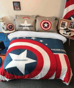 Captain America Luxury Bedding Set (Duvet Cover & Pillow Cases)