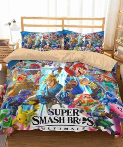3d Customize Super Smash Bros Ultimate Duvet Cover Bedding Set 2