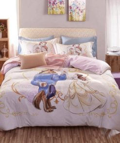 Beauty And The Beast Luxury Bedding Set (Duvet Cover & Pillow Cases)