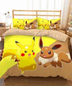 3d Pokemon Go Duvet Cover Bedding Set 3
