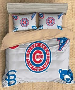 3d Customize Chicago Cubs Duvet Cover Bedding Set  2