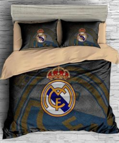 3d Real Madrid C.F. Duvet Cover Bedding Set