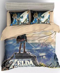 Game The Legend Of Zelda For Kids 3d Duvet Cover Bedding Set
