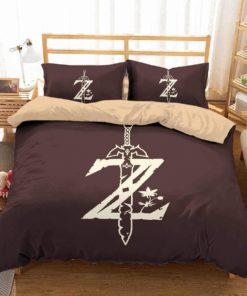 3d The Legend Of Zelda Duvet Cover Bedding Set 2