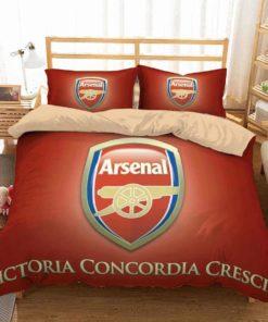 3d Arsenal F.C. Duvet Cover Bedding Set 1
