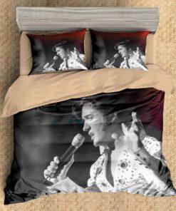 3d Elvis Presley Duvet Cover Bedding Set 1