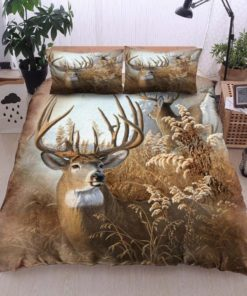 Hunting Deer The Chariot Bedding Set (Duvet Cover & Pillow Cases)