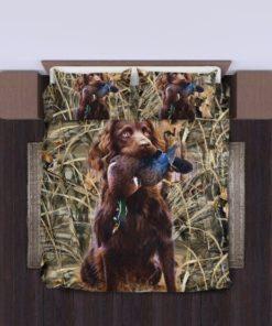 Dog Hunting Duck Bedding Set (Duvet Cover & Pillow Cases)