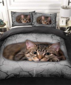 Cat Strength Bedding Set (Duvet Cover & Pillow Cases)
