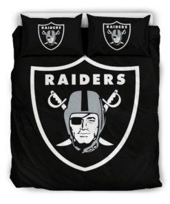 Oakland Raiders Bedding Set (Duvet Cover & Pillow Cases)