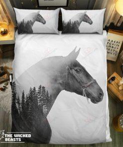 Deep Forest Horse Bedding Set (Duvet Cover & Pillow Cases)
