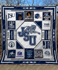 Jacksonville State University (Jsu) Quilt Blanket Ver 1