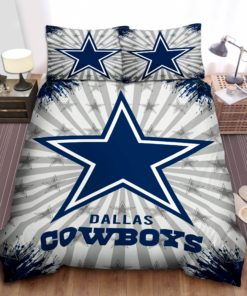 Dallas Cowboys Star Logo Bedding Set (Duvet Cover & Pillow Cases)